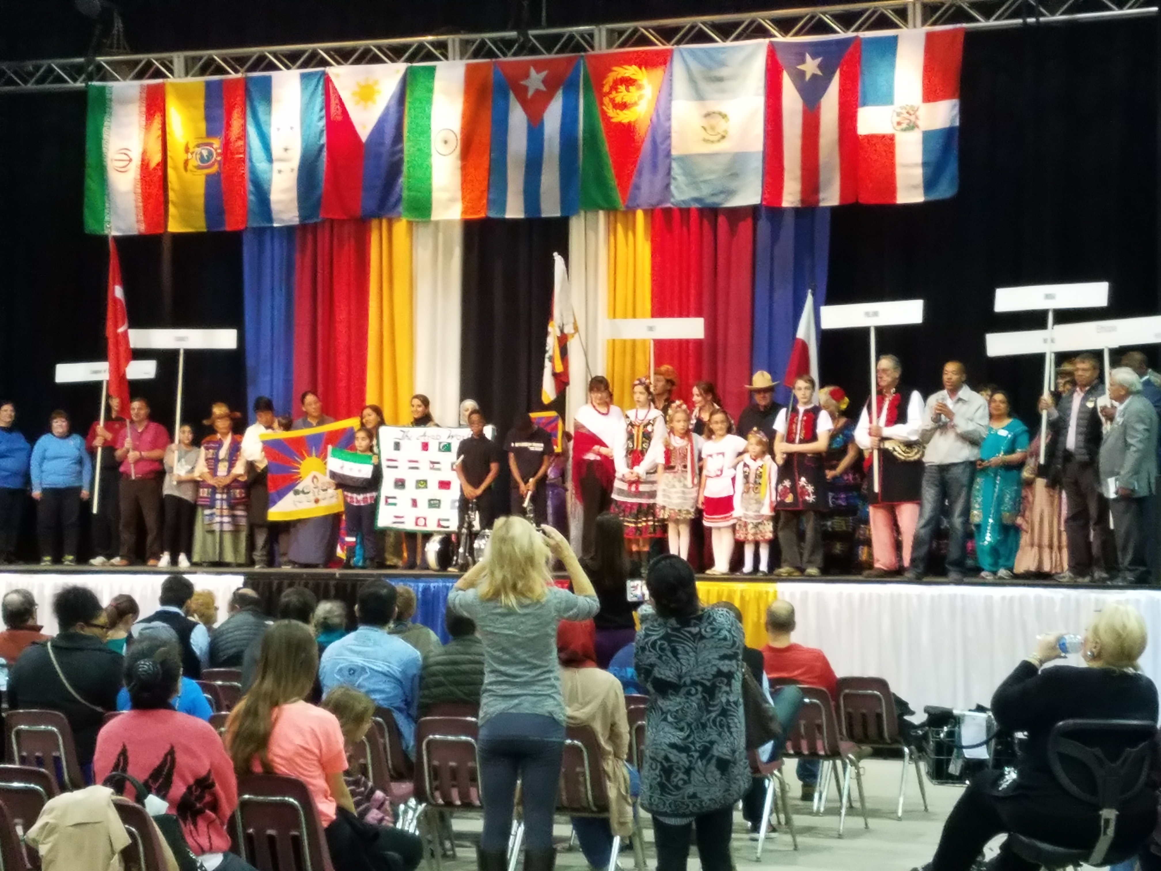 Noble Academy Columbus CYSP team went to Columbus International Festival